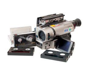 Camcorder tapes transfer to dvd or digital Broxburn